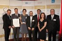 """Abbvie Deutschland als Sieger mit """"Corporate Health Award 2017"""" ausgezeichnet"""